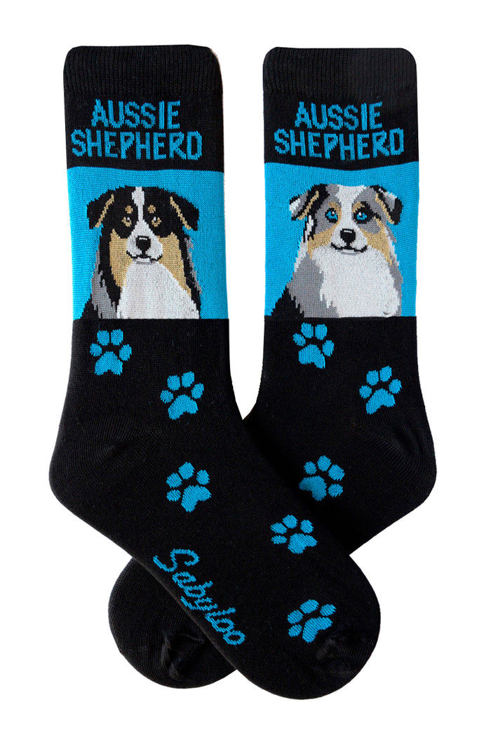 Australian Shepherd Dog Socks