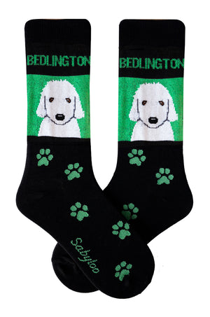 Bedlington Dog Socks