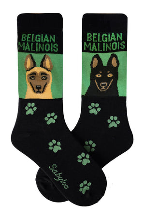 Belgian Malinois Dog Socks