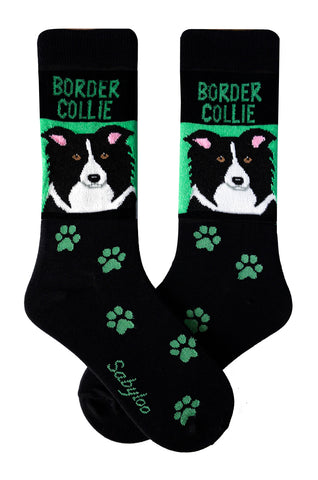 Border Collie Dog Socks