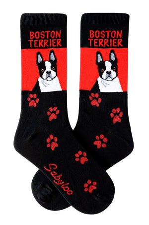 Boston Terrier Dog Socks