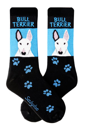 Bull Terrier Dog Socks