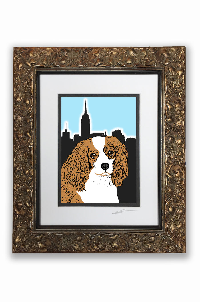 Cavalier Brown Pupart Portrait