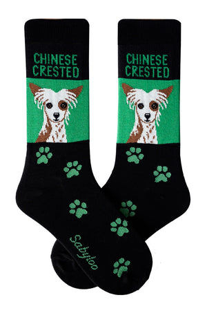 Chinese Crested Dog Socks