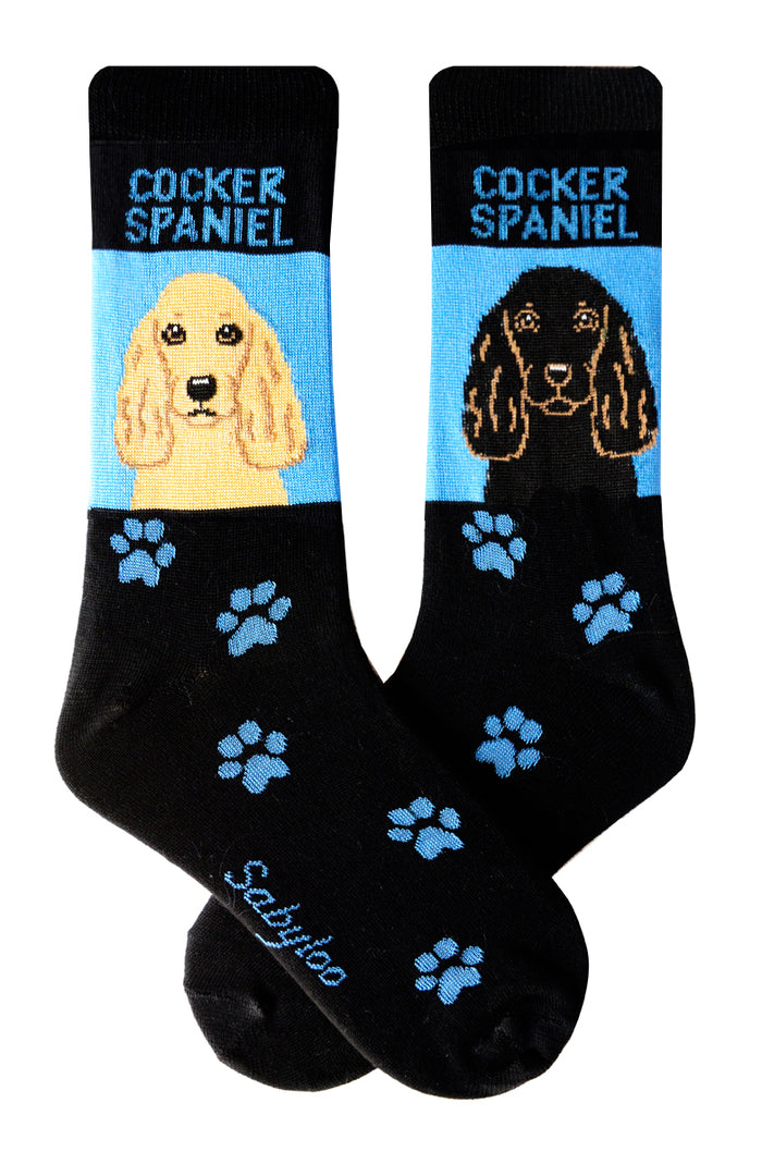 Cocker Spaniel Dog Socks
