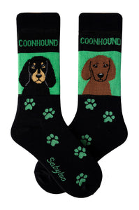 Coonhound Dog Socks
