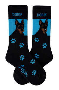 Doberman Dog Socks