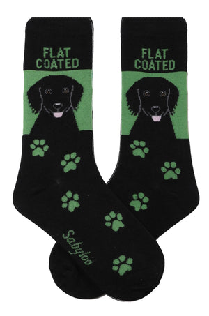Flat Coated Retriever Dog Socks
