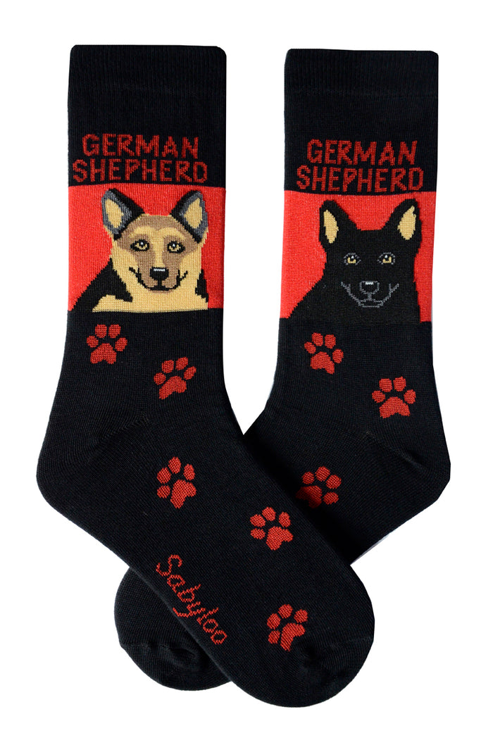 German Shepherd Dog Socks