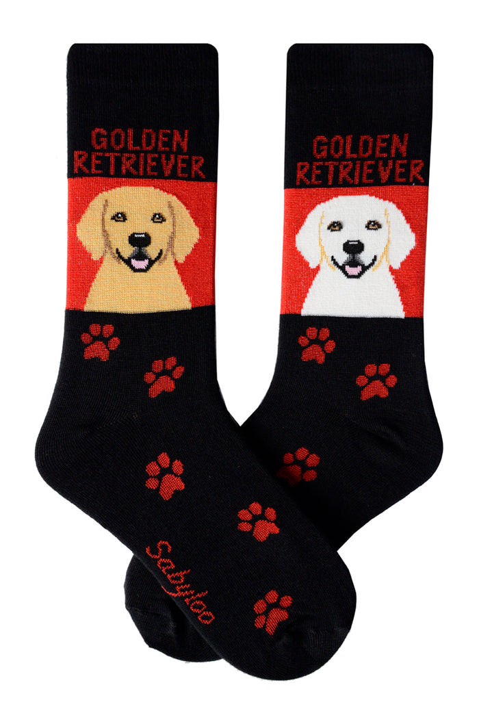 Golden Retriever Dog Socks