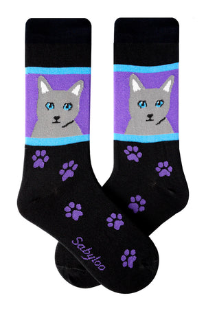 Gray Cat Socks