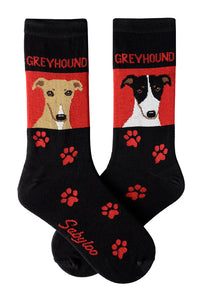 Greyhound Dog Socks