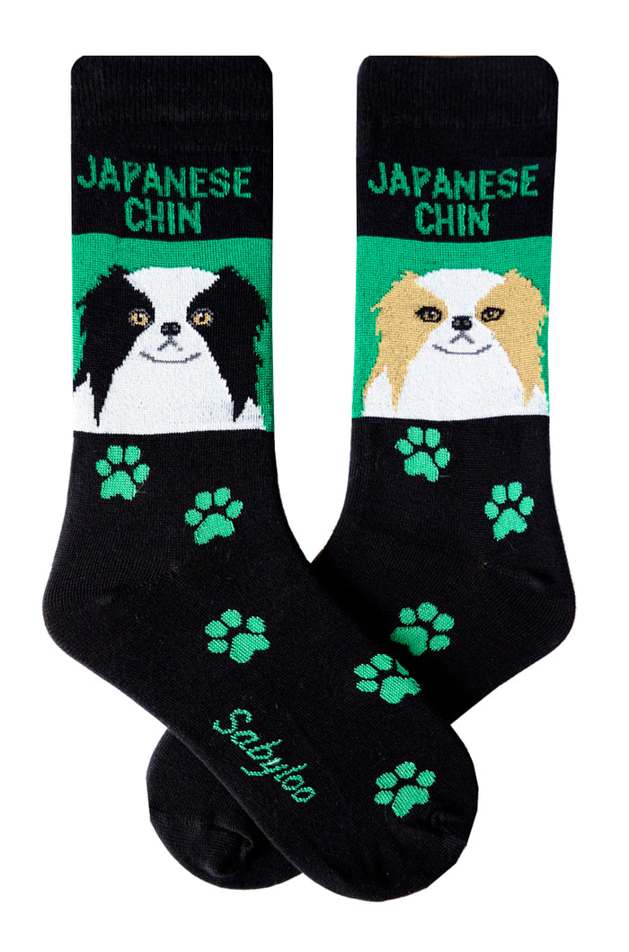 Japanese Chin Dog Socks
