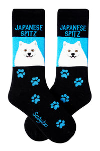 Japanese Spitz Dog Socks