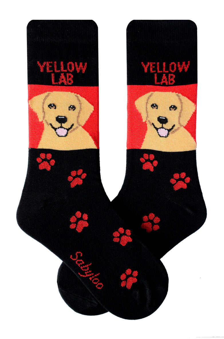 Lab, Yellow Dog Socks