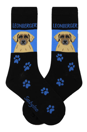 Leonberger Dog Socks