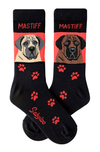 Mastiff Dog Socks