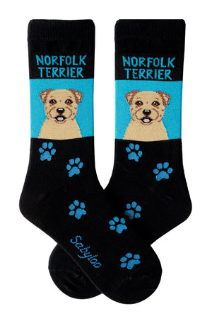 Norfolk Terrier Dog Socks