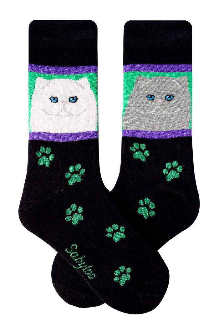 Persian Cat Socks