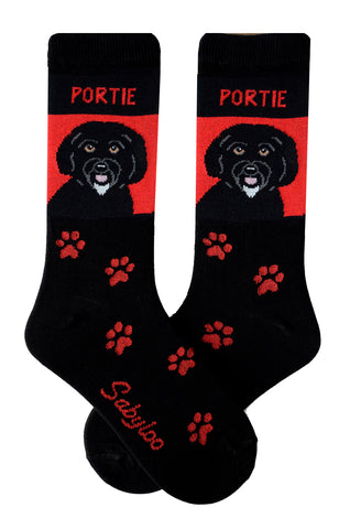 Portugese Water Dog Socks (Portie)