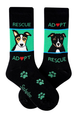 Adopt Rescue Dog Socks