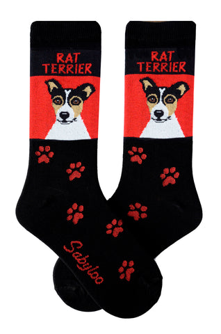 Rat Terrier Dog Socks
