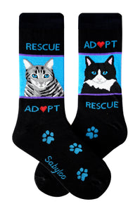 Rescue Cat Socks