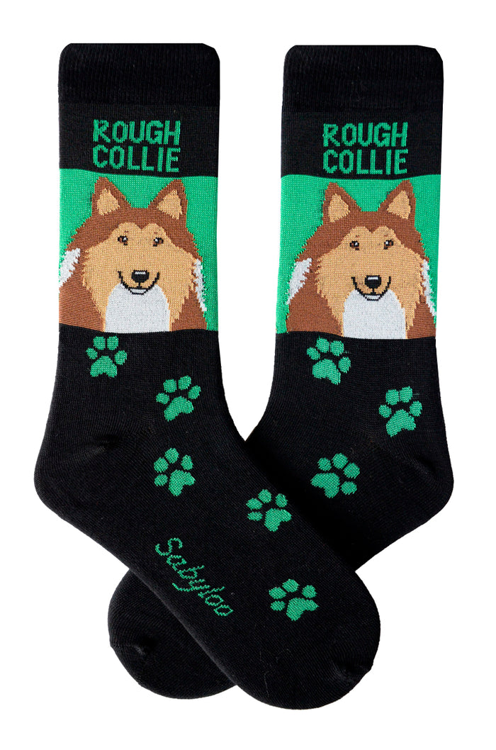 Rough Collie Dog Socks