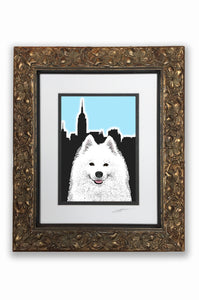 Samoyed Pupart Portrait