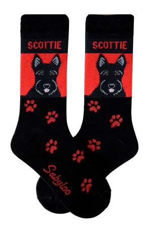Scottie Dog Socks