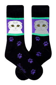 Scottish Fold Cat Socks
