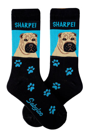 Sharpei Dog Socks