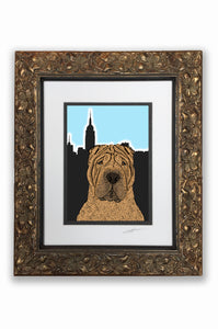 Sharpei Pupart Portrait