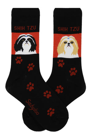 Shih Tzu Dog Socks Long