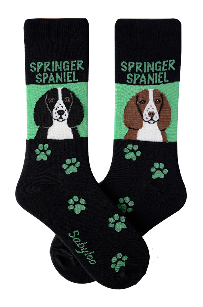 Springer Spaniel Dog Socks