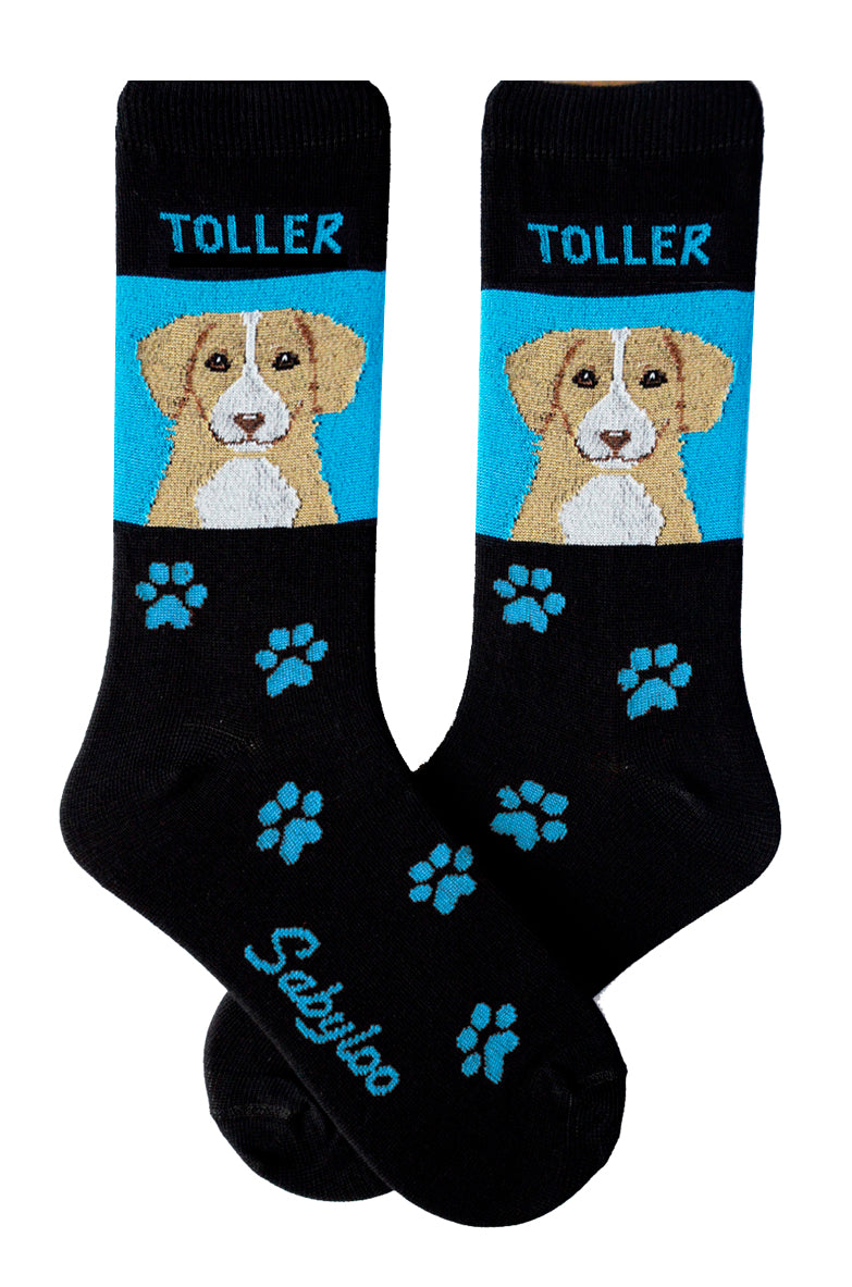 Toller (Nova Scotia Duck Tolling Retriever) Dog Socks