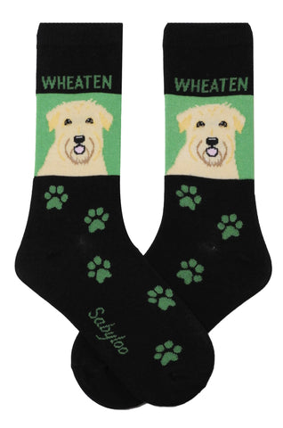 Wheaten Dog Socks