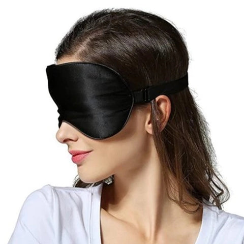 sleep easily anytime with Soft Silk Light Weight Sleep Mask