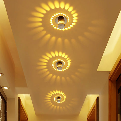 LED Wall Ceiling or Hallway Lamp