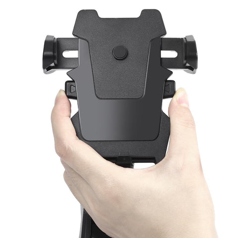 adjusting side clamps of One Touch Car Mount Phone Holder