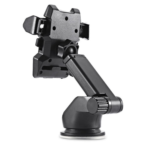 angled view of One Touch Car Mount Phone Holder