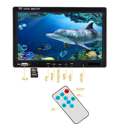the 200mm monitor Fishing Underwater Camera Fish Waterproof Camera Fishing Games