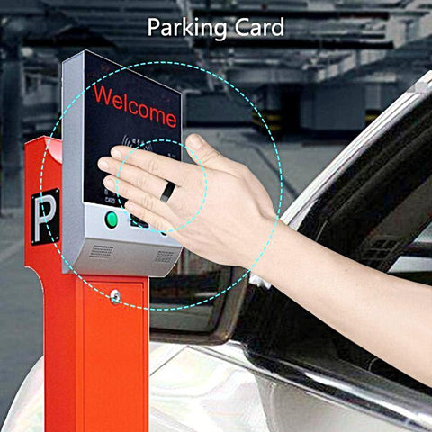wave to open car park barriers Jakcom R3 Smart Ring