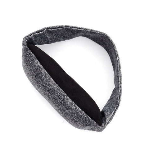 open view of Travelsmart Neck Support Pillow & Eye Mask
