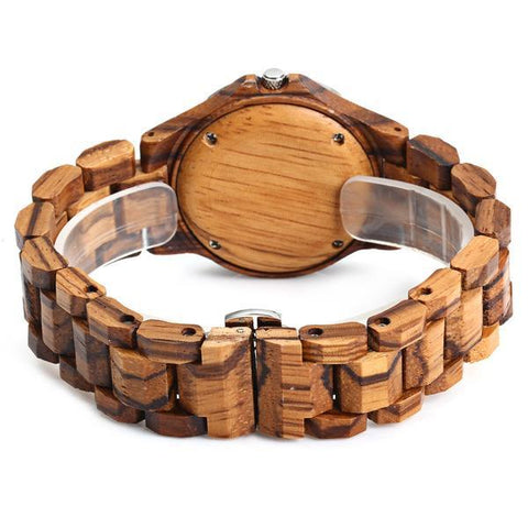 great looks of Bewell Wooden Wristwatch