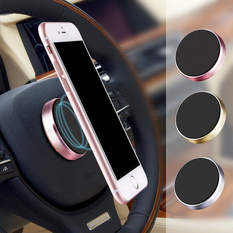 navigate safely with your phone on the magnetic car phone holder