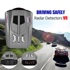 avoid speeding fines with 360 Degrees 16 Band Scanning LED Radar Detector