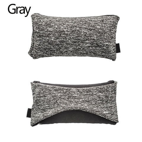 grey Travelsmart Neck Support Pillow & Eye Mask