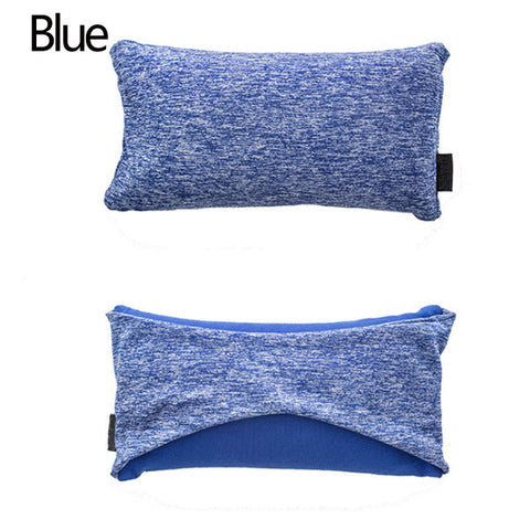 blue Travelsmart Neck Support Pillow & Eye Mask