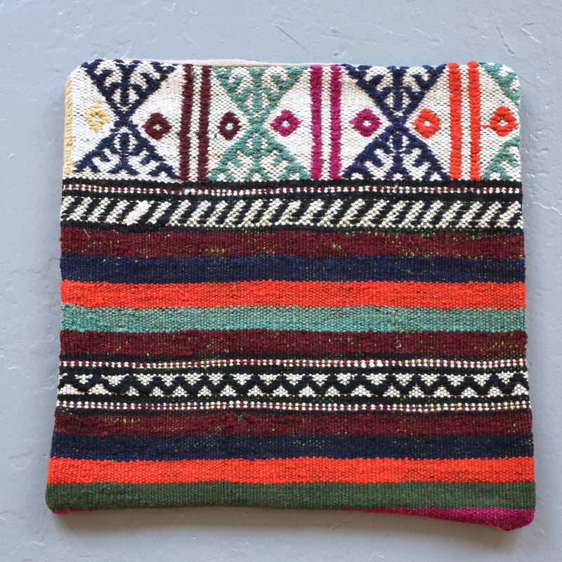 Kilim Pillow 16inx16in